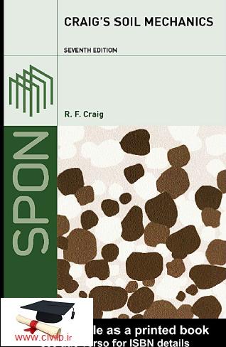 کتاب مکانیک خاک پیشنویس خودکار Craig's Soil Mechanics