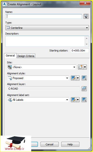 فیلم آموزش کامل و کاربردی نرم افزار Autocad Civil 3D  فیلم آموزش کامل و کاربردی نرم افزار civil 3d-ایجاد مسیر فیلم آموزش کامل و کاربردی نرم افزار Civil 3D-ایجاد مسیر 3 2